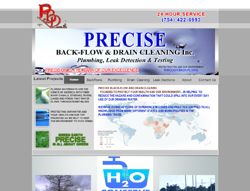 Precise Backflow & Drain Cleaning