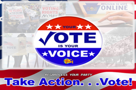 Take Action...VOTE!